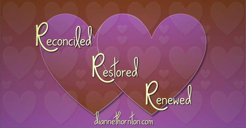 Got a relationship that needs some attention? Forgiveness may be the most precious gift you can give on Valentine's Day. Be reconciled, restored, & renewed!