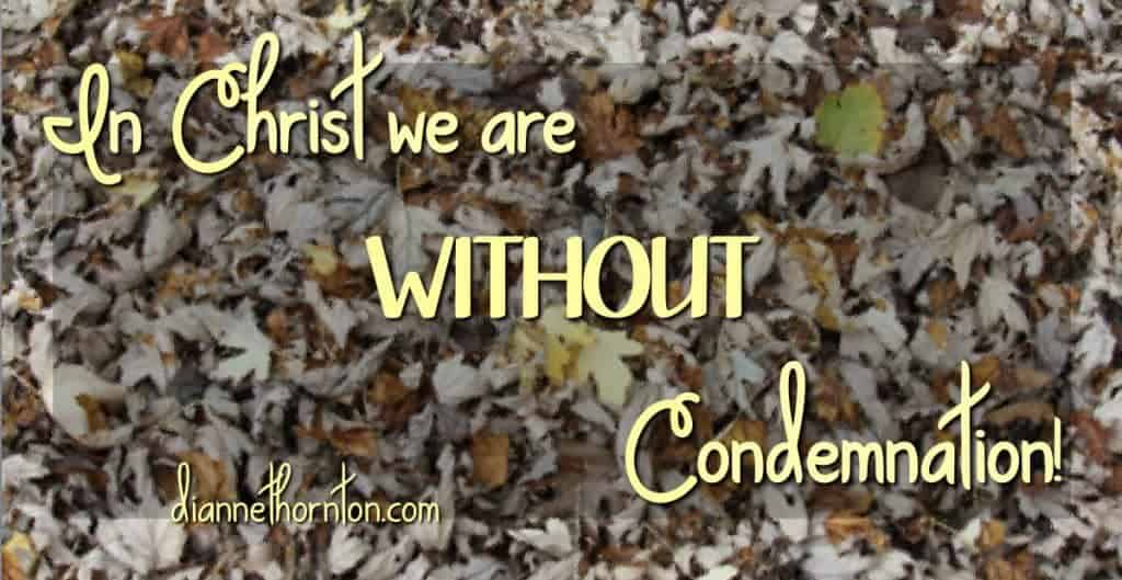 Do you ever feel the weight of your sin? Do you know how much God loves you? When you give your life to Christ, you are WITHOUT condemnation!