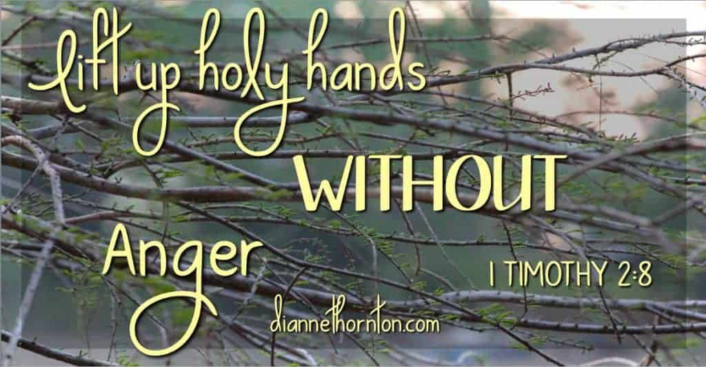 Who hasn't found themselves frustrated on a Sunday morning. Worshiping without anger is what God wants. Sometimes worship is the way out of anger!