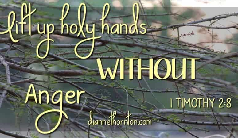 Worshiping WITHOUT Anger