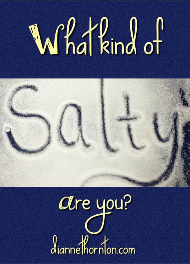 Are you salty? If you are a teenager it means one thing. But it also means something else.