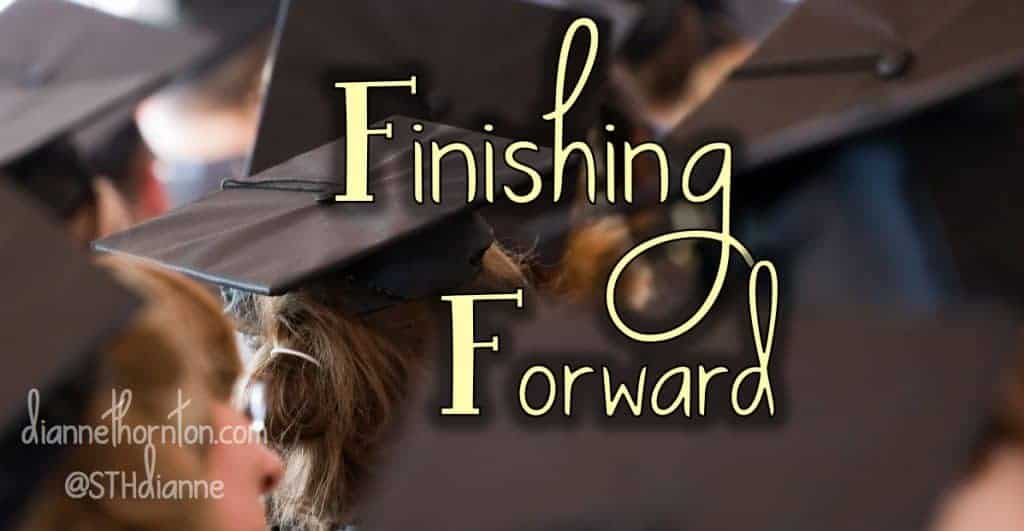 Are you approaching a transition in life? Finishing one thing and soon to begin another? How we finish makes a huge difference in how we start again.