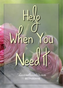 Are you facing a task that seems beyond your ability? Do you need more help than you can muster? God stands ready to give you all the help you need!