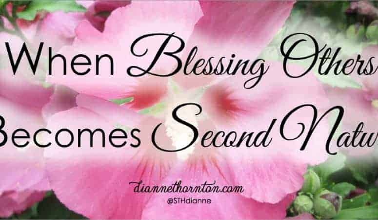 When Blessing Others Becomes Second Nature