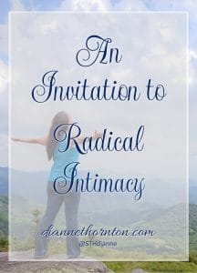 Intimacy. To be known, accepted, & loved. One of our most basic needs. God wants us to experience intimacy with Him. It takes time and a plan. Here's how.