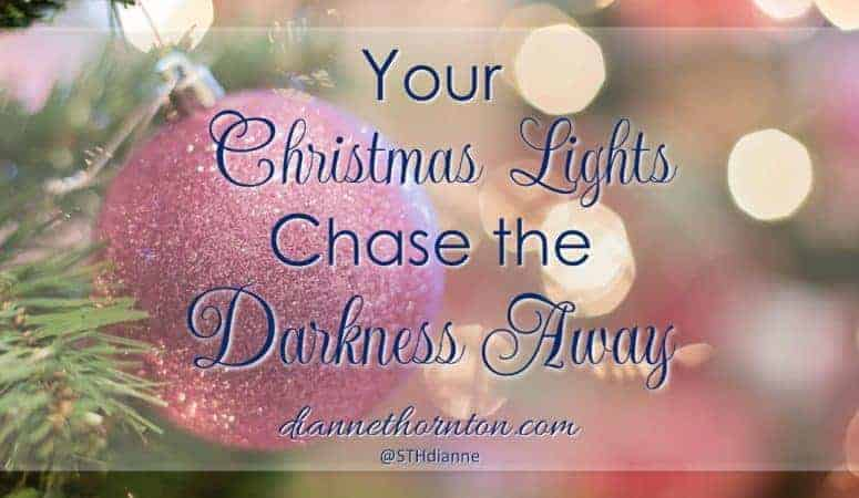 Your Christmas Lights Chase The Darkness Away