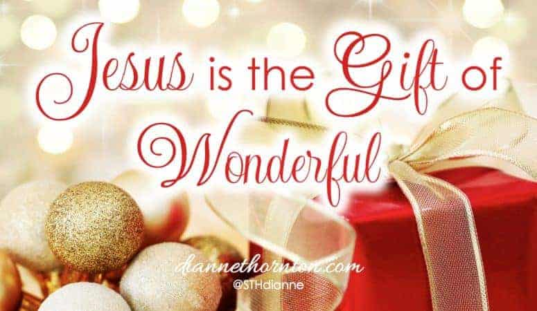 Jesus Is the Gift of WONDERFUL