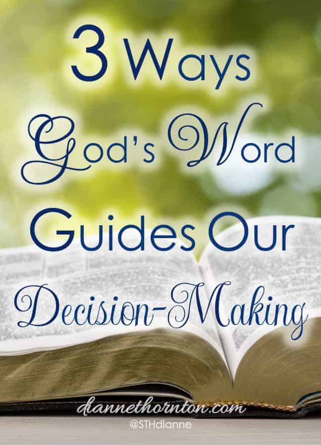 God's Word is amazing. No other book is as powerful and practical. It is a handbook for living. God's Word guides every decision we make.