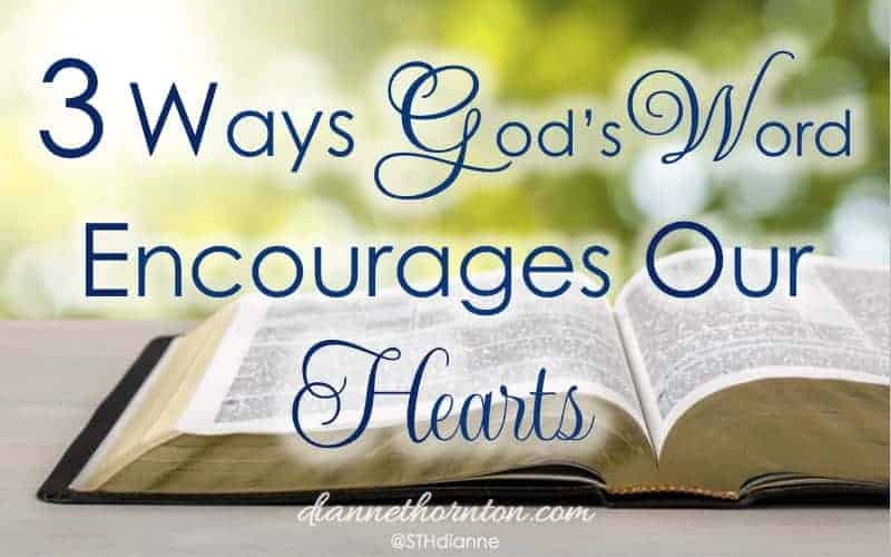 When we are frustrated and disappointed, when our hearts are weary, when we need direction, God's Word encourages our hearts with strength, hope,and joy.