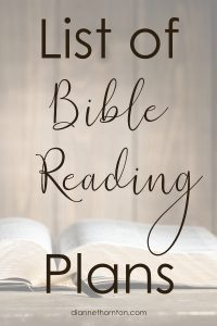Bible reading plans are plentiful. Whether focusing on 365 key chapters or reading the whole Bible, this list has something that fits your needs.